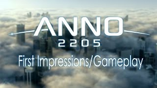 Anno 2205 ► First Impressions/Gameplay (FULL GAME)