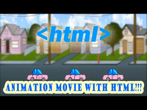 How To Create A Simple Animation Movie With Html