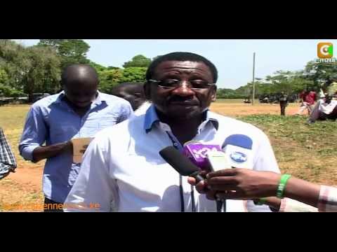 James Orengo Casts His Vote In Ugunja