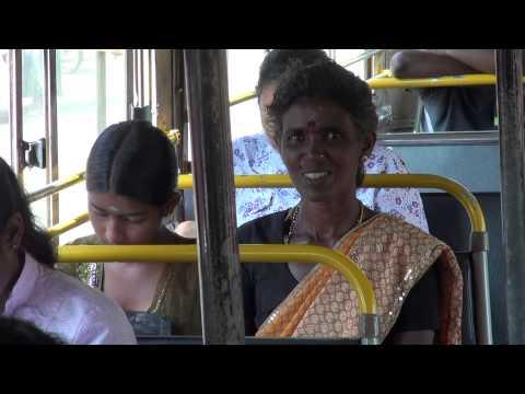 JAFFNA KANDY INSIDE A BUS