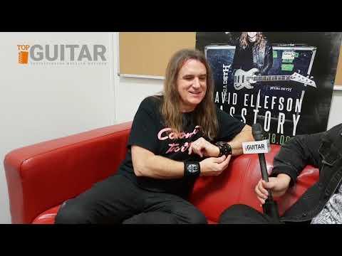 Dave Ellefson - wywiad (napisy PL)   Basstory: David Ellefson (interview)