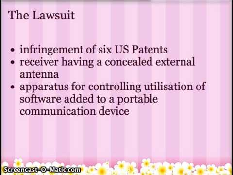 Google Smartphone Patent War