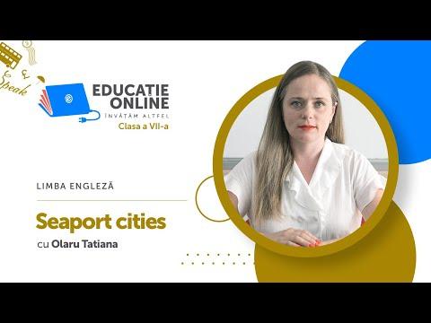 Limba engleză, Clasa a VII-a, Seaport cities