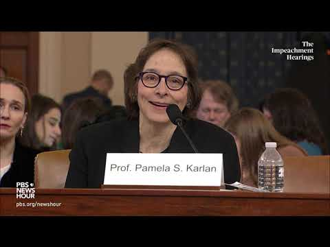 WATCH: Democratic counsel's full questioning of legal experts | Trump impeachment hearings