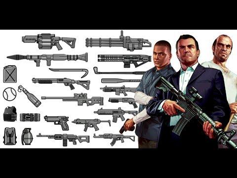 ¿Dónde encontrar TODAS LAS ARMAS DE GTA V?