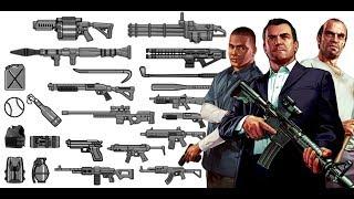 ¿Dónde encontrar TODAS LAS ARMAS DE GTA V? thumbnail