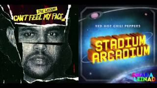 The Weeknd Vs. Red Hot Chili Peppers California Face