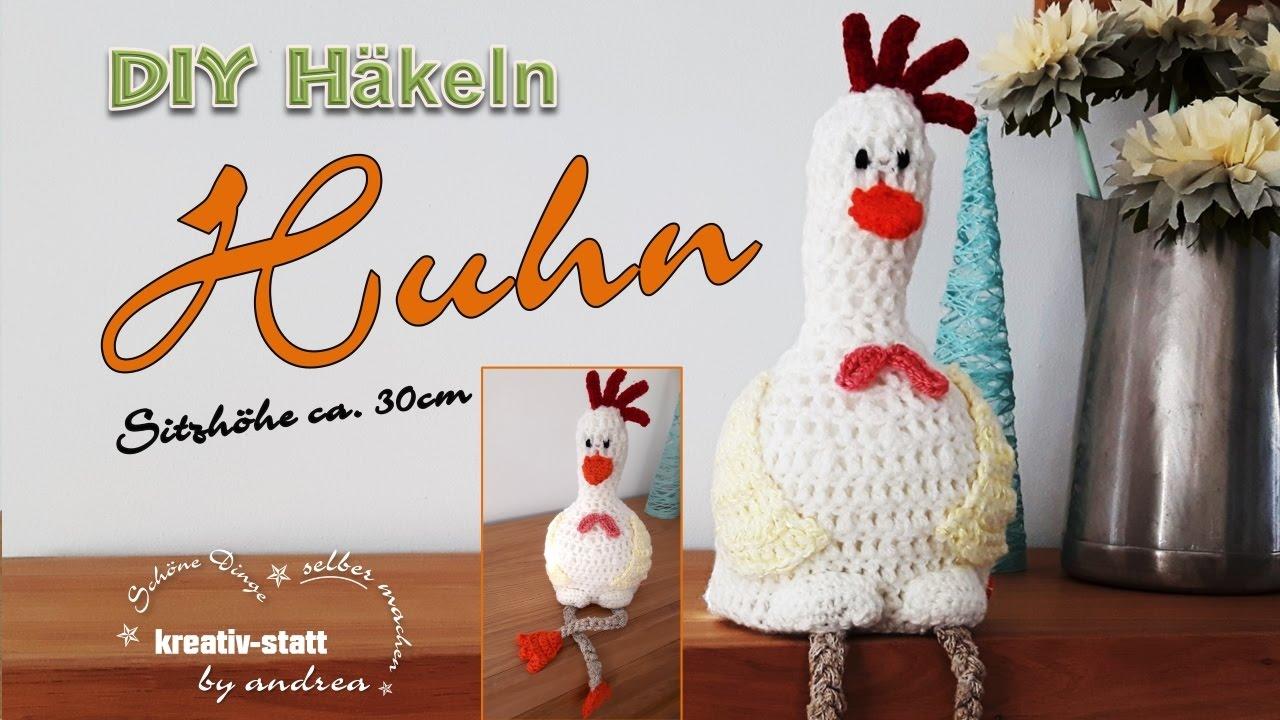 Diy Häkeln Amigurumi Henne Huhn Sitzend Ostern Ca 30 Cm Groß