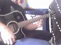 lecon tapping percussion a la guitare sur le blues du chat noir