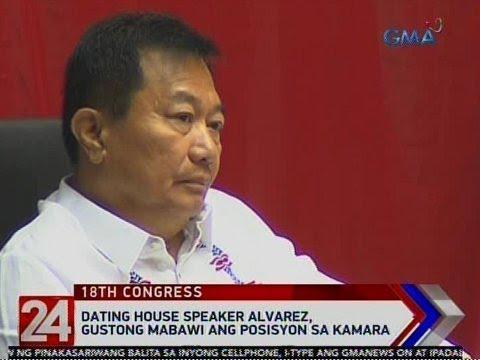 24 Oras: Dating House Speaker Alvarez, gustong mabawi ang posisyon sa Kamara