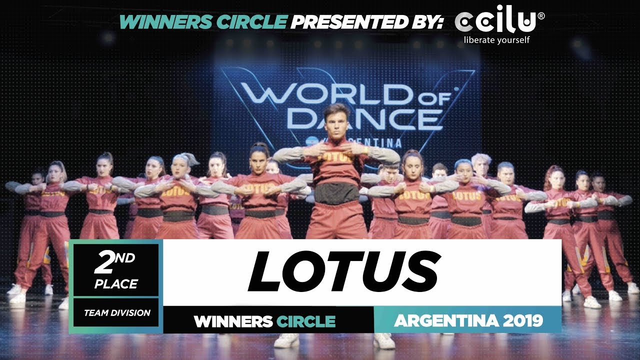 Lotus | 2nd Place Team | Winners Circle | World of Dance Argentina Qualifier 2019 |  #WODARG19