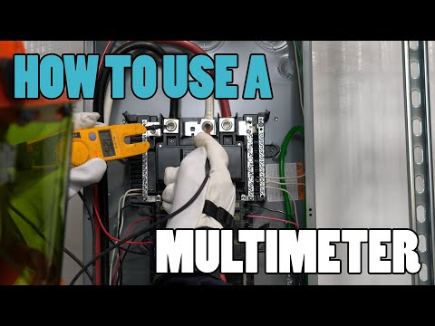 Episode 25 - How To Use A Multimeter - USING THE FLUKE T5-600 TESTER