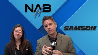 Live Now from NAB2019 - Samson