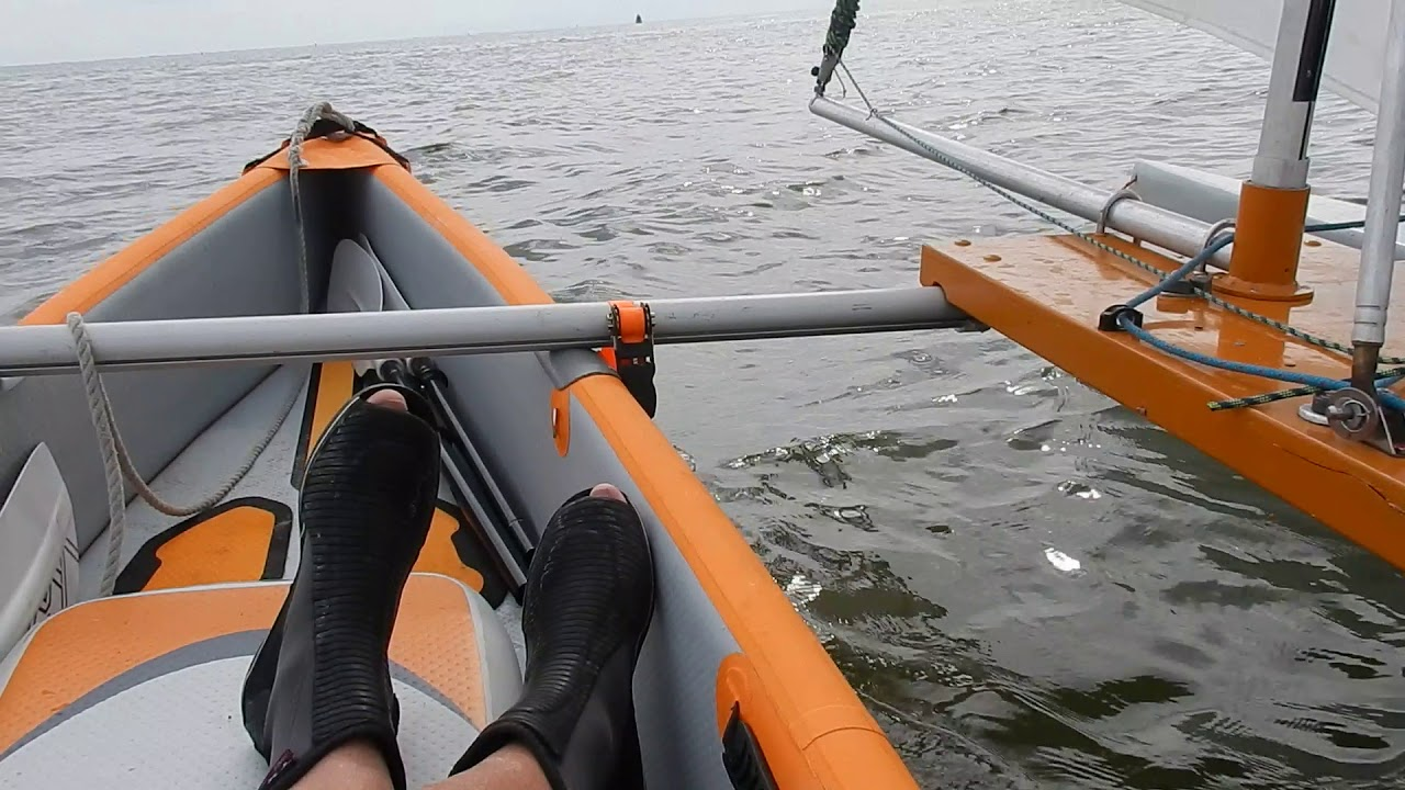 Inflatable Sailing Kayak Briesje By Hans Schipper Inflatable kayaks are becoming more and more popular probably down to their affordability, easy transportation and customisation. inflatable sailing kayak briesje by