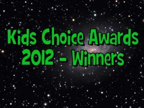 Nickelodeon Kids Choice Awards 2012 - Winners ✔