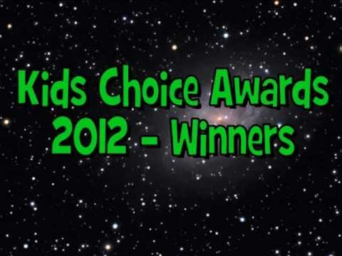 Nickelodeon Kids Choice Awards 2012 - Winners ✔