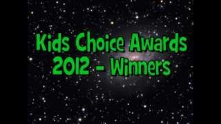 Nickelodeon Kids Choice Awards 2012 - Winners