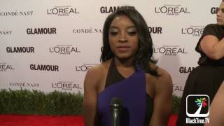 Simone Biles Interview Glamour Women Of The Year 2016