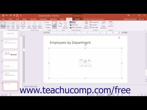 PowerPoint 2016 Tutorial Using Tabs Microsoft Training