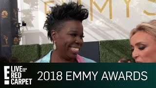 Leslie Jones Plans to Kiss Who If She Wins the Emmy? | E! Live from the Red Carpet
