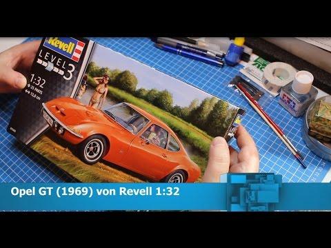 Opel GT 1969 von Revell 1:32