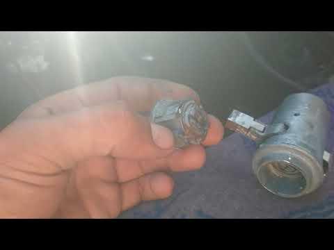 Как снять замок зажигания ваз 2107 без ключа