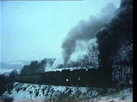 Steam trains in Poland in the 1980's - rare footage
