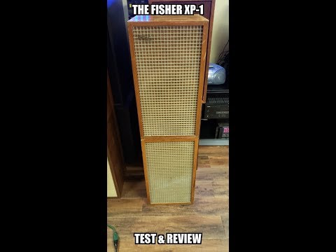 What A F...... Nightmare, Vintage THE FISHER XP-1 Speakers.Test & Review