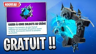 """SEE THE SAC to DOS """"PORTAIL SPECTRAL"""" FREE on FORTNITE!"""