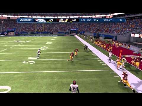 Madden 13 CCM - TLY Season 2 Super Bowl: Redskins vs Broncos