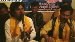 Birthday of RAVIDASS JI Celebration 1st Time in Pakistan by Sanjhay Lok, Qawaal Kale Khan Fareedi