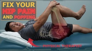 Hip Labral Tear? Pain or Popping in Your Hip? Try This Exercise NOW!