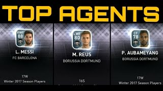 PES 2017 Mobile Top Agents Opening