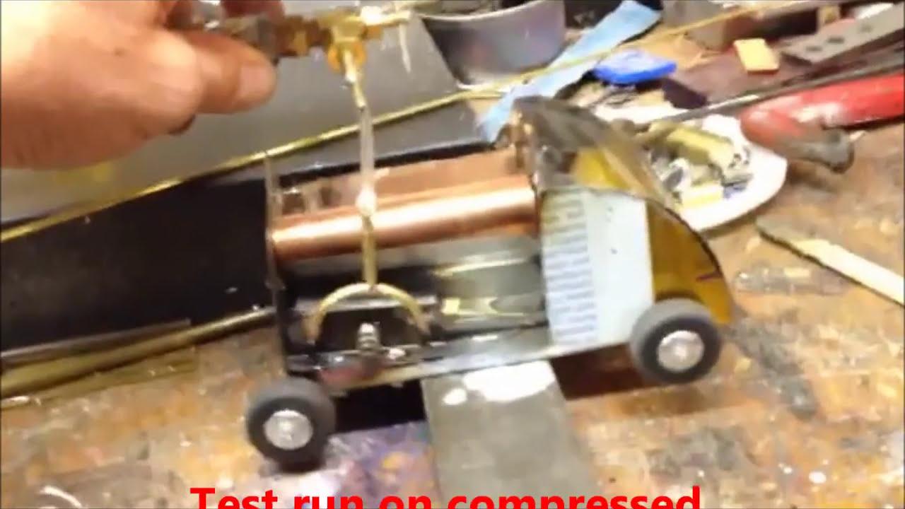 Steam Car Build Steam Engine Run Youtube