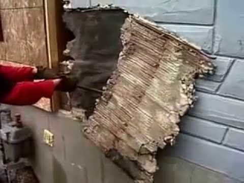 How To Remove Stucco Siding Youtube