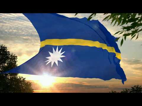 Flag and anthem of Nauru