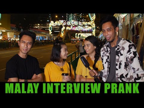 Can Singaporean Malays speak Malay? (Prank)