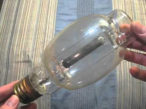 100 WATTS MERCURY VAPOR LIGHT BULB H38-100 DELUXE WHITE ... |Long Light Bulbs Mercury