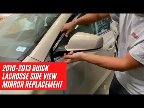 How to replace a 2010-2013 Buick Lacrosse side view mirror | ReveMoto