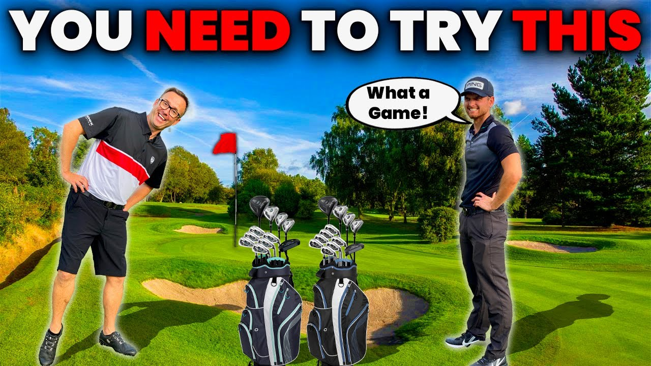 THE NEW FORMAT OF A GOLF GAME YOU NEED TO TRY THIS ! 👍