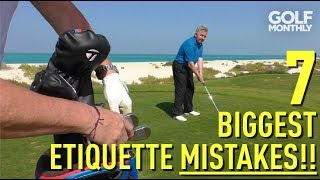 7 Biggest Etiquette Mistakes!! G๐lf Monthly