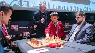 4 QUEEN ENDGAME!! MVL vs Ding Liren || London Chess Classic 2019