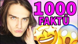 1000 FAKTŮ O MNĚ! *světový rekord*