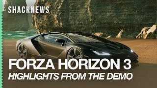 FORZA HORIZON 3: Vehicles, Maps, Gameplay, And Game Modes From The Demo