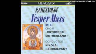Chesnokov - Blessed is the man  (02. Blazhen muzh, izhe ne ide na sovet nechestivyh)