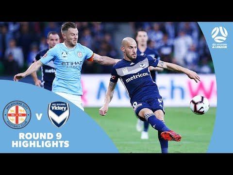 Hyundai A-League 2018/19 Round 9: Melbourne City 1-1 Melbourne Victory