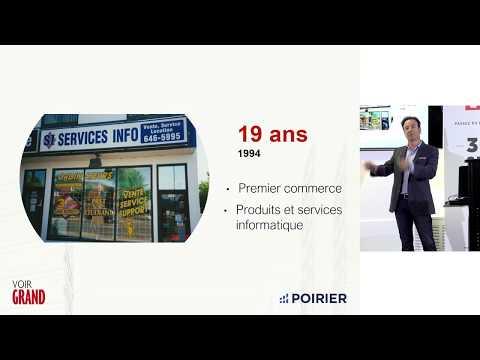 Midi-conférence : Luc Poirier, Entrepreneur et développeur d'affaires