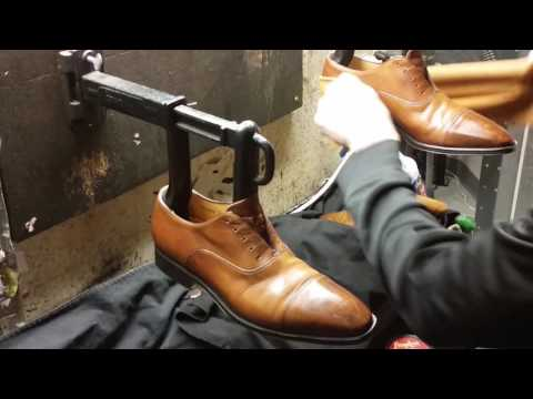 Best shoe shine in Denver, ASMR, how to burnish toes