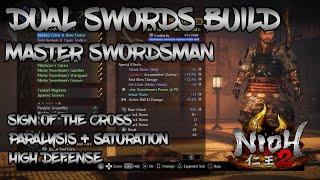 Nioh 2 - Dual Swords Build - Master Swordsman