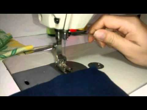 Como cambiar aguja de maquina de coser - YouTube
